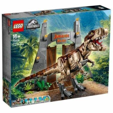 Jurassic Park : le carnage du T. rex (75936)