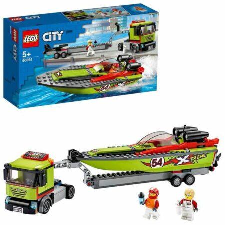 Le transport du bateau de course (60254)