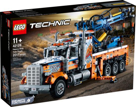 Le camion de remorquage lourd (42128) Toys Puissance 3