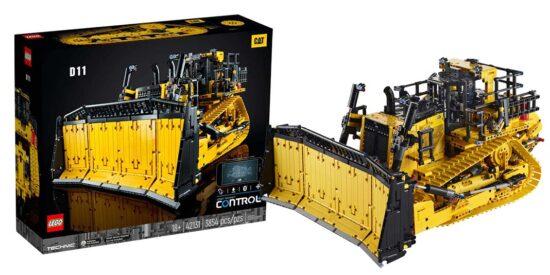 Bulldozer D11 Cat® télécommandé (42131) Toys Puissance 3