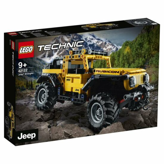 Jeep® Wrangler (42122) Toys Puissance 3
